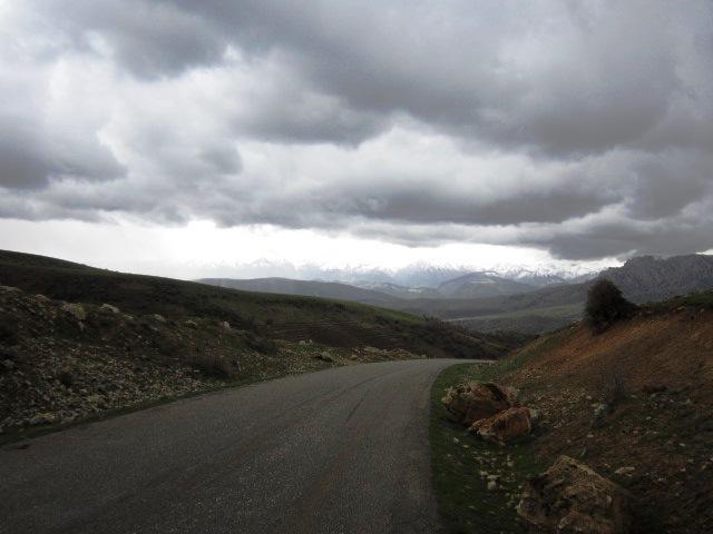هوای ابری لرستان+روستای ژیریان ژمستان+زمستان روستای ژیریان+عکس زمستان لرستان+ژیرو+ژیریان